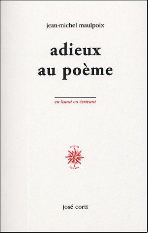 9782714308917: Adieux au poème