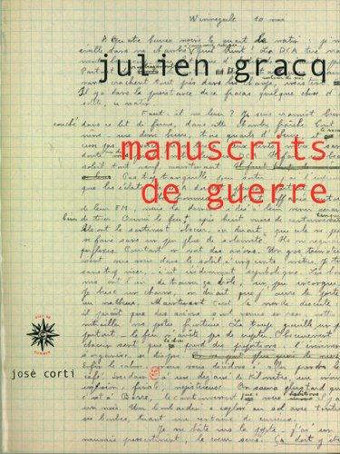 9782714310576: Manuscrits de guerre