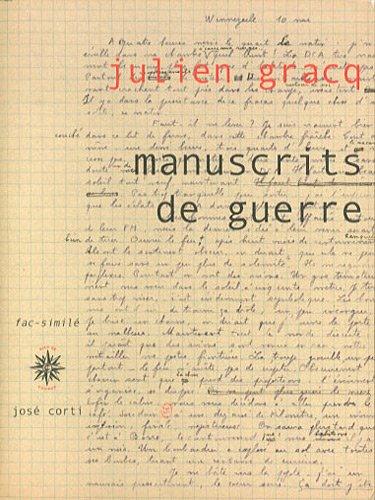 9782714310583: Manuscrits de guerre (French Edition)
