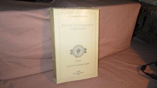 9782714414090: Études de symbolique chrétienne : Iconographie et symbolique du Coeur de Jésus