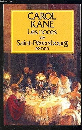 9782714425898: Les noces de saint-petersbourg