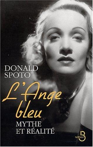 9782714439468: L'Ange bleu : La Vie de Marl�ne Dietrich