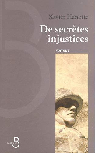 9782714439499: De Secrètes injustices