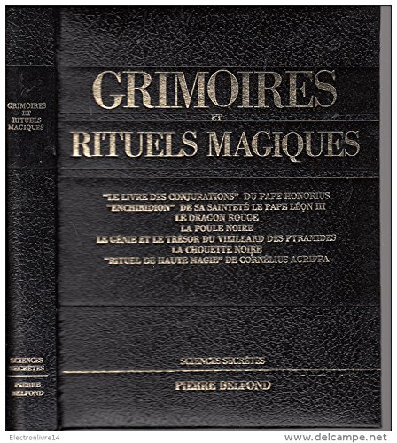 9782714440075: Grimoires et rituels magiques - Sciences secrètes.