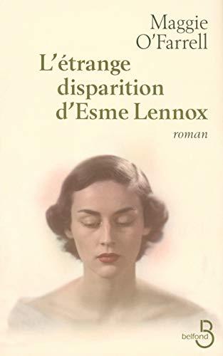 L'étrange disparition d'Esme Lennox (French Edition) (9782714443342) by [???]