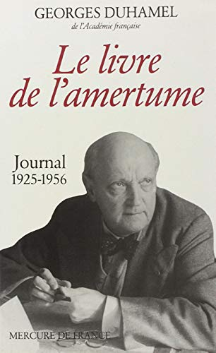 9782715201750: Le livre de l'amertume: Journal (1925-1956)