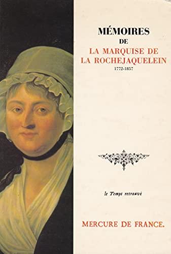 Mémoires (Le Temps retrouvé): Marie-Louise-Victoire de Donnissan