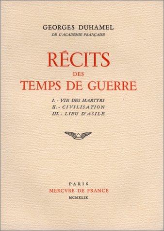 9782715203129: R�cits des temps de guerre, 2 volumes (livre non massicot�)