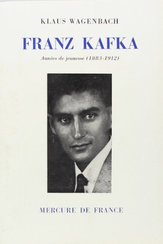 9782715208179: Franz Kafka. Années de jeunesse, 1883-1912