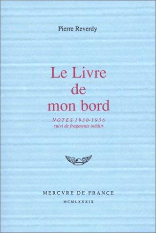 9782715215726: Le Livre de mon bord: Notes (1930-1936)