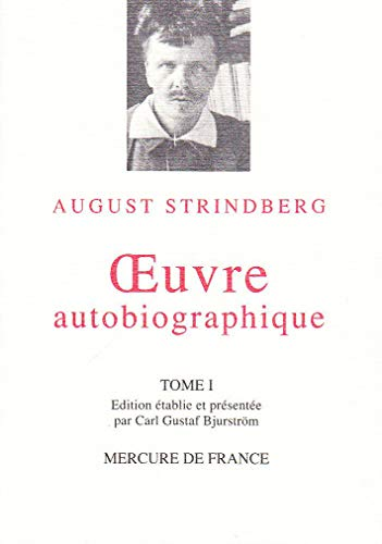 9782715216075: Oeuvre autobiographique, tome I