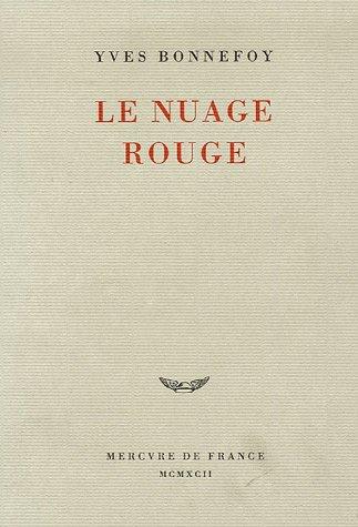 9782715217355: Le Nuage rouge: Essai sur la poétique