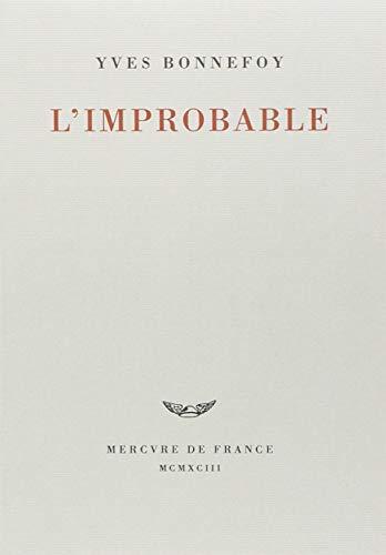9782715217782: L'improbable et autres essais