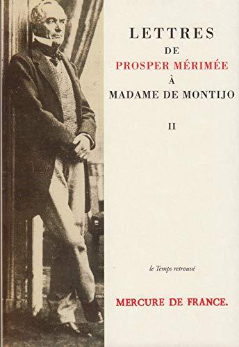 9782715218246: Lettres de Prosper Mérimée à Madame de Montijo