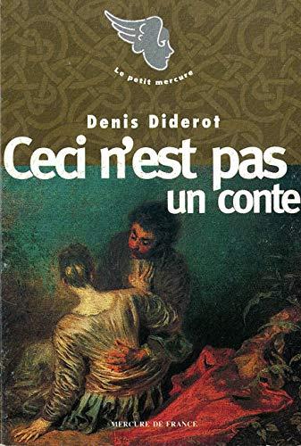 Ceci n'est pas un conte (Le Petit: Diderot, Denis