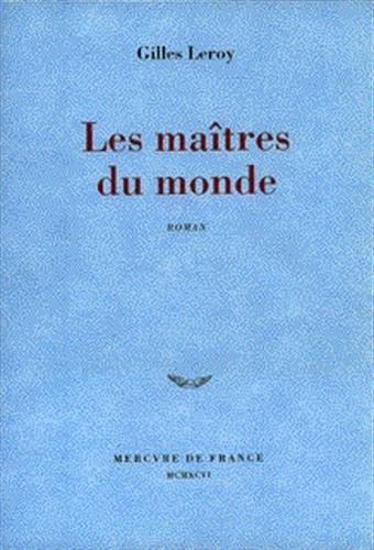 9782715219533: Les maîtres du monde: Roman (French Edition)