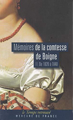 9782715221796: Mémoires (Tome 2-De 1820 à 1848): Récits d'une tante