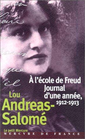 9782715222069: A l'école de Freud, journal d'une année, 1912-1913