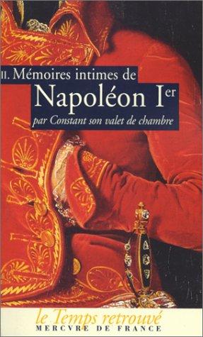 Mémoires intimes de Napoléon 1er par Constant,: Constant