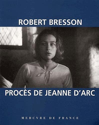 Procàs de Jeanne d'Arc [Paperback] [Apr: Robert Bresson