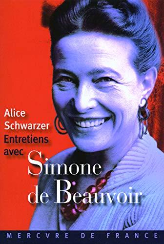 9782715228382: Entretiens avec Simone de Beauvoir