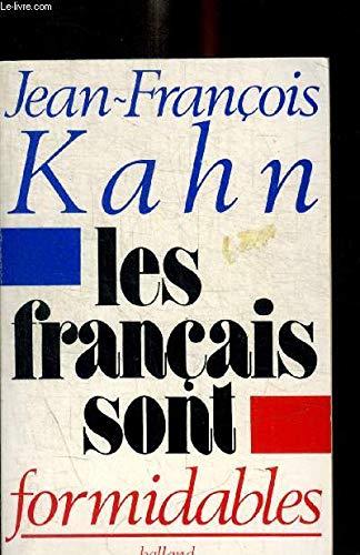 9782715806221: Les Français sont formidables