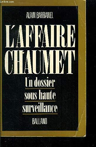 9782715807099: L'affaire chaumet