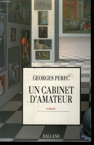 9782715808539: Un cabinet d'amateur (Littérature Française)