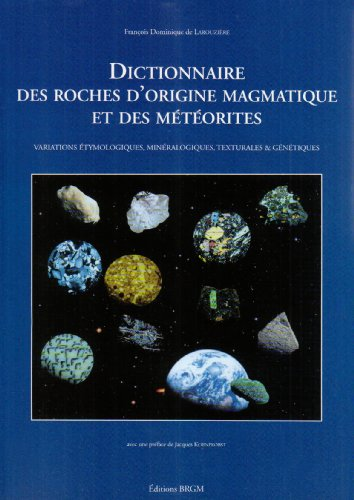 9782715909076: **dict. roches magmat./meteorite (Manuel)