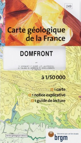 9782715912496: Carte geologique de la France (French Edition)