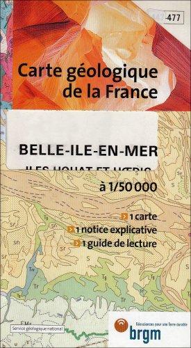 9782715914773: Carte g�ologique : Belle-�le-en-Mer