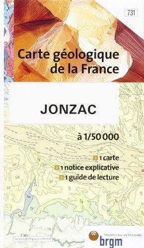 JONZAC AU 1/50.000 EME: REF.BRGM 731