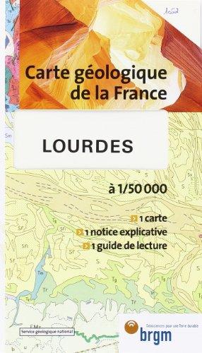 9782715920521: Carte géologique : Lourdes