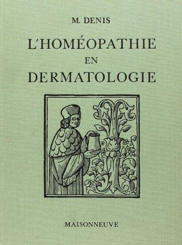 9782716001038: L'hom�opathie en dermatologie