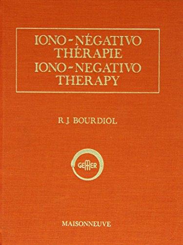 9782716001298: Iono Negativo Thérapie (French Edition)