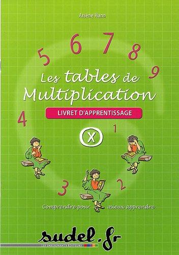 9782716202794: Les tables de multiplication : Livret d'apprentissage