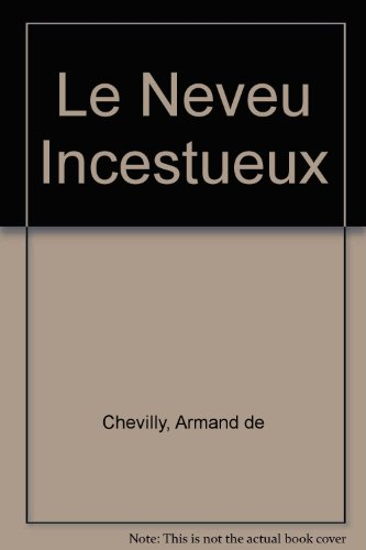 9782716706346: Le Neveu Incestueux