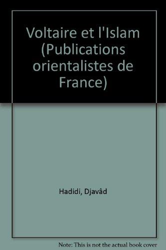 9782716900065: Voltaire et l'Islam (Langues et civilisations : Littérature) (French Edition)