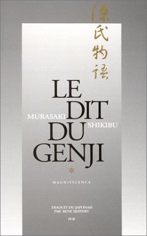9782716902625: Le Dit du Genji, 2 volumes : Magnificence- Impermanence