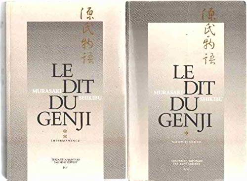 9782716902632: Le Dit du Genji, 2 volumes : Magnificence - Impermanence