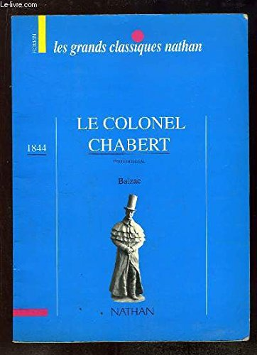 9782717108521: Le colonel Chabert