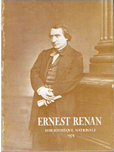 9782717712087: Ernest Renan (French Edition)