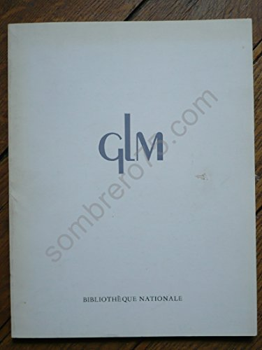Les Editions GLM, 1923-1974: Bibliographie (French Edition) (2717716033) by Bibliotheque nationale (France)