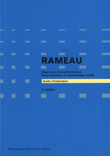 9782717723151: Guide d'indexation Rameau