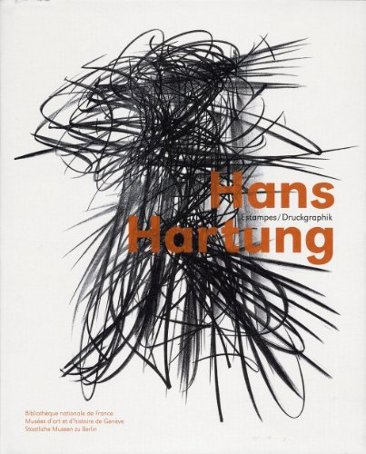 9782717724585: Hans Hartung : Estampes, édition bilingue français-allemand