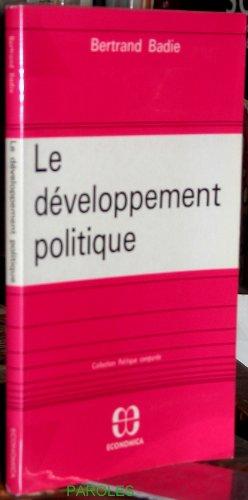 9782717803037: Le développement politique