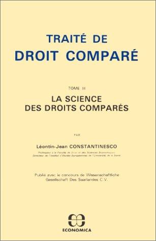 9782717804560: Traité de Droit comparé