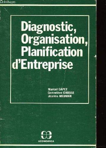 Diagnostic, organisation, planification d'entreprise: Marcel Capet, Geneviève