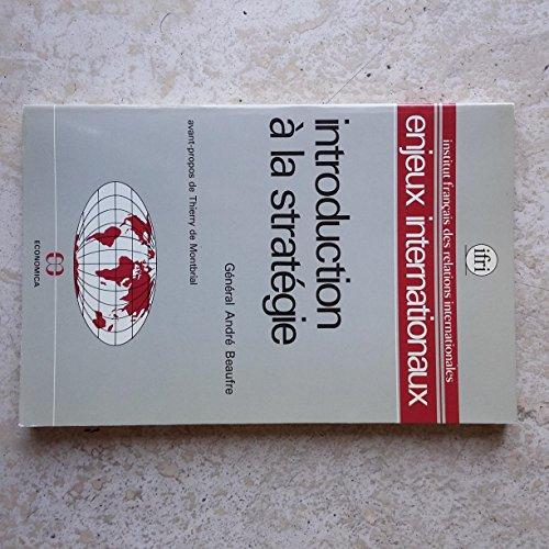 9782717809961: Introduction a la strategie