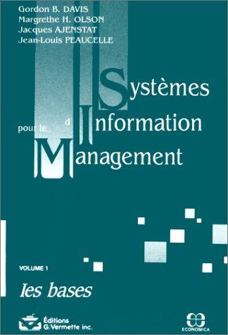 Systemes d'information pour le management vol 1: Davis, Gordon-B; Olson,